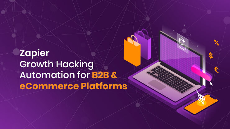 Zapier Growth Hacking Automation for B2B & eCommerce Platform